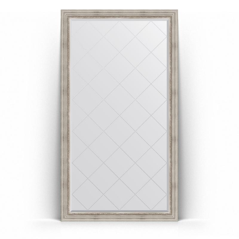 Зеркало Evoform Exclusive-G Floor 201х111 Римское серебро зеркало evoform exclusive g 186х131 римское серебро