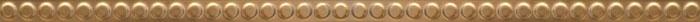 Керамический бордюр Gemma Magnifique Gold Torello 2,7х90 см фото