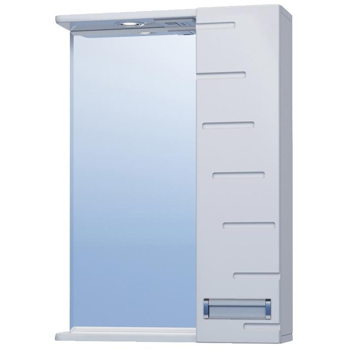 Зеркало со шкафом Vigo Diana 50 R с подсветкой Белое