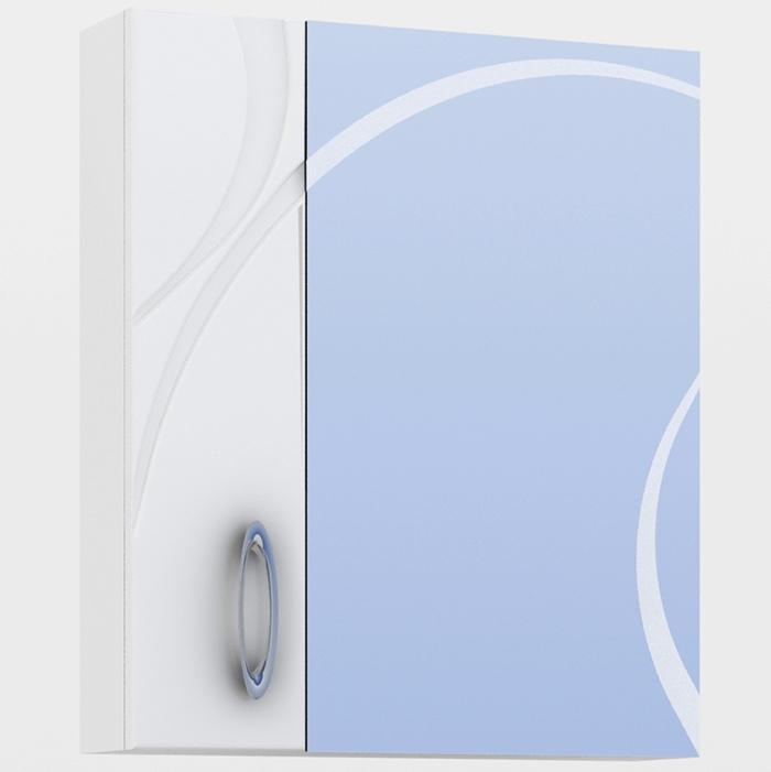 Зеркальный шкаф Vigo Mirella 70 Белый пенал vigo mirella п11 белый
