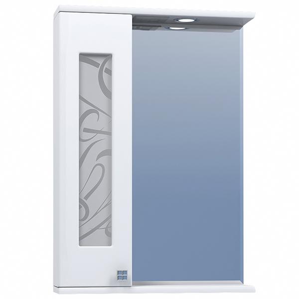 Зеркало со шкафом Vigo Provans 55 L с подсветкой Белое