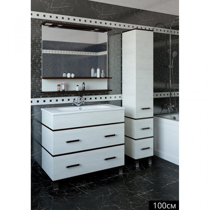 Зеркало Sanflor Турин 100 С0000002135 Венге Орегон