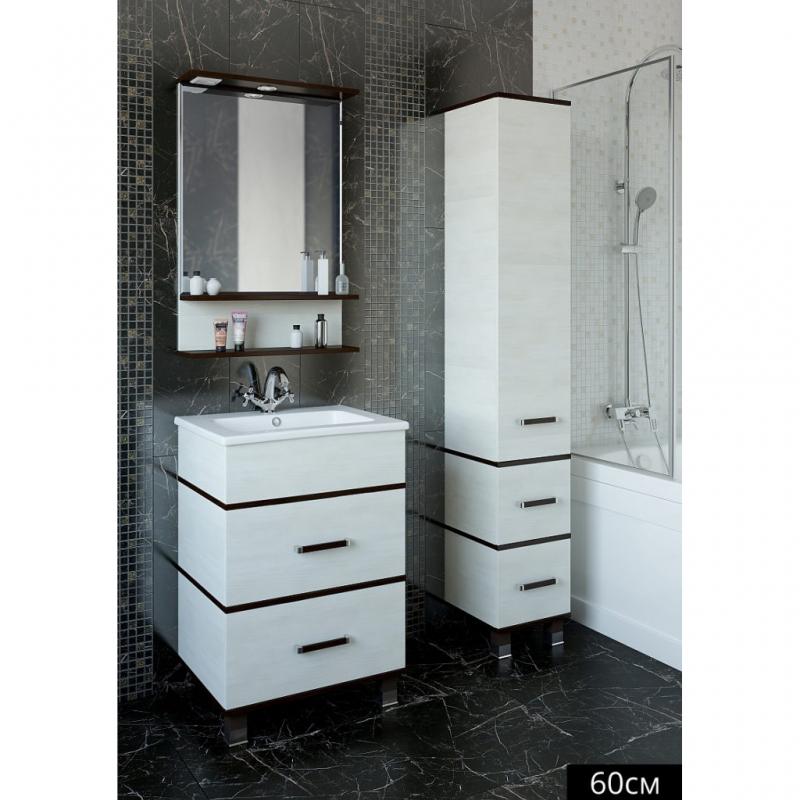 Зеркало Sanflor Турин 60 С0000002136 Венге Орегон