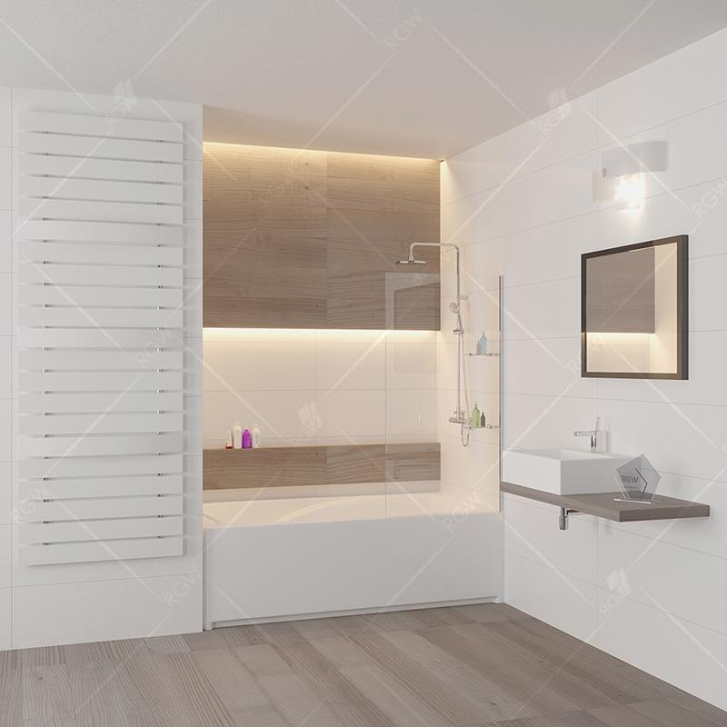 Шторка на ванну RGW Screens SC-54 80x150 профиль Хром стекло прозрачное шторка на ванну rgw screens sc 09 70x150 профиль хром стекло прозрачное