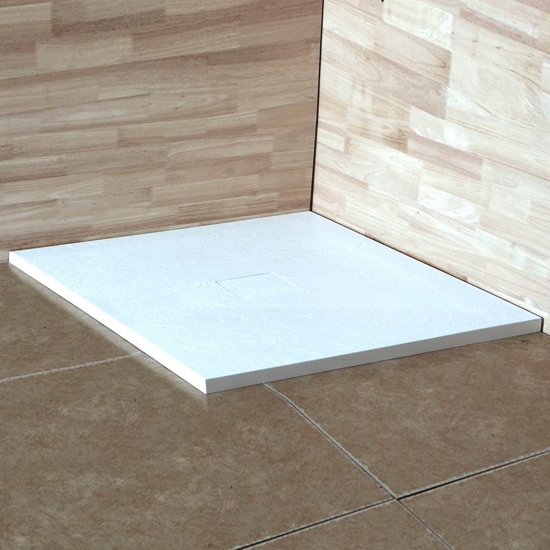 Душевой поддон из искусственного камня RGW STT ST-0099W 80x80x2,5 Белый фото