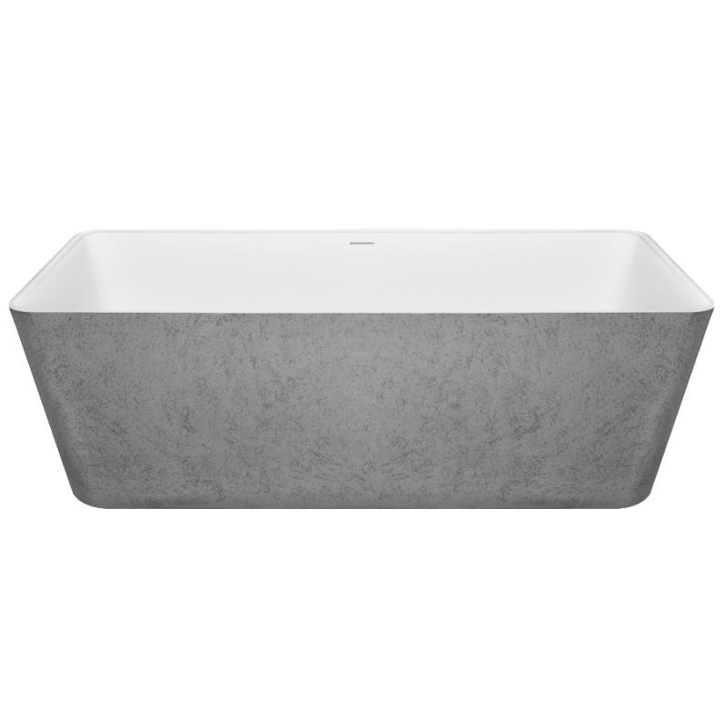 Ванна из искусственного камня NT Bathroom NT305 165х80 без гидромассажа ванна из искусственного камня nt bathroom nt201 165х78 без гидромассажа