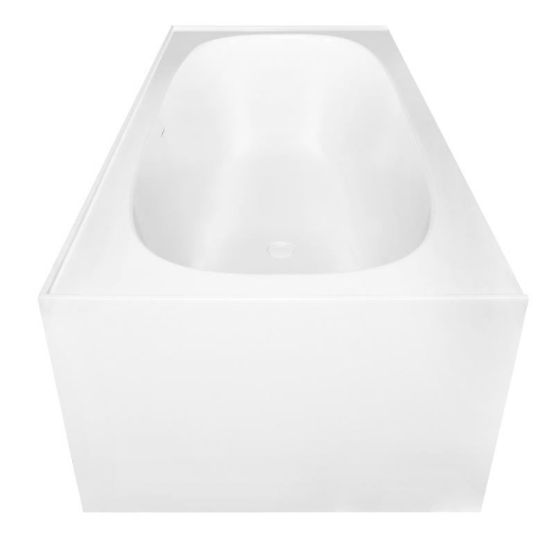 Ванна из искусственного камня NT Bathroom NT206 180х80 без гидромассажа ванна из искусственного камня nt bathroom nt201 165х78 без гидромассажа