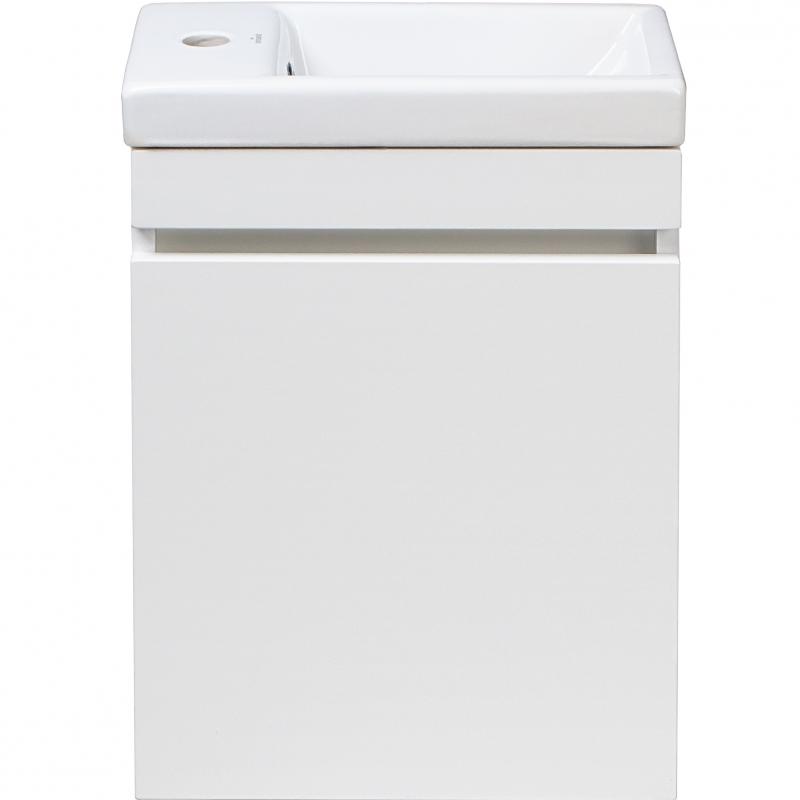цены на Тумба под раковину Style Line Compact 40 Люкс СС-00000248 подвесная Белая в интернет-магазинах