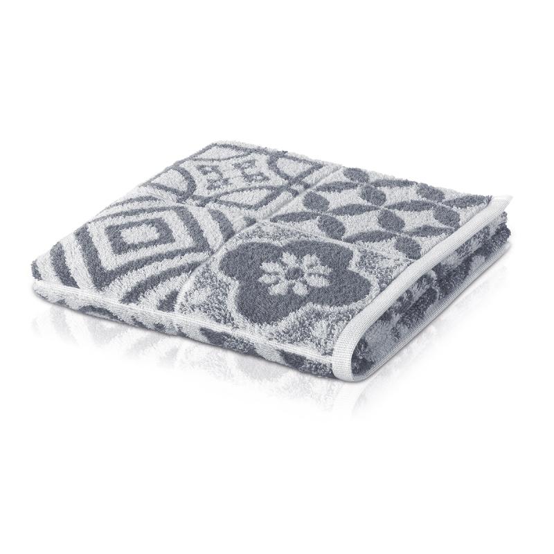 Махровое полотенце Moeve Buenos Aires 80x150 Серое фото