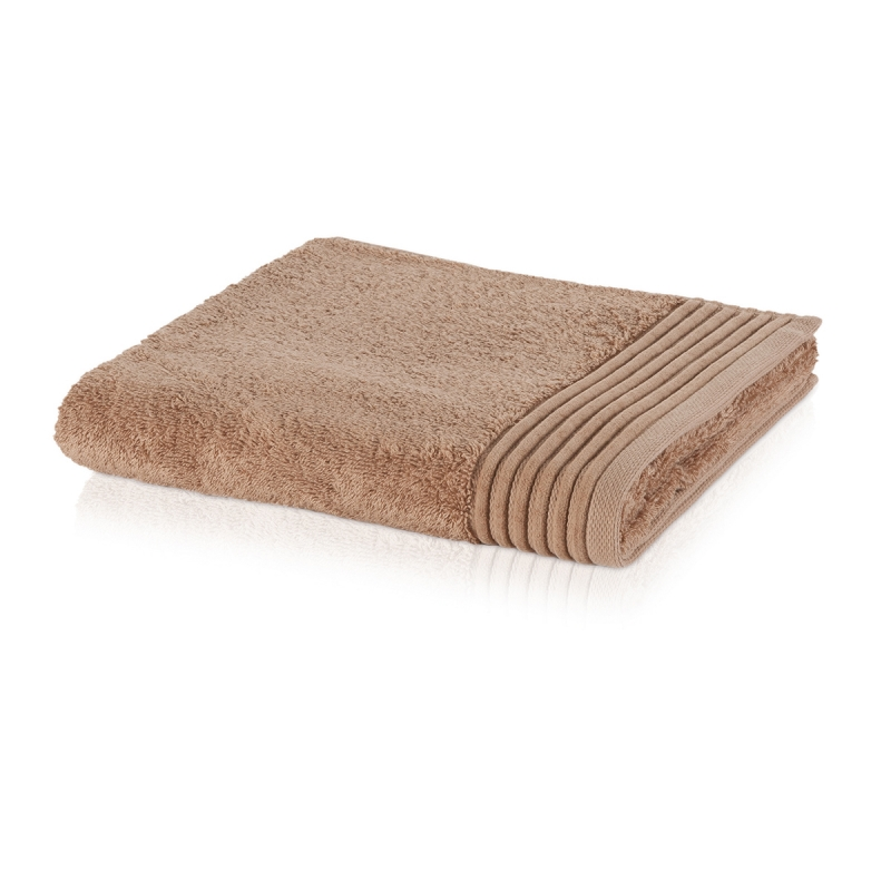 Махровое полотенце Moeve Loft 80x150 Бежево-коричневое