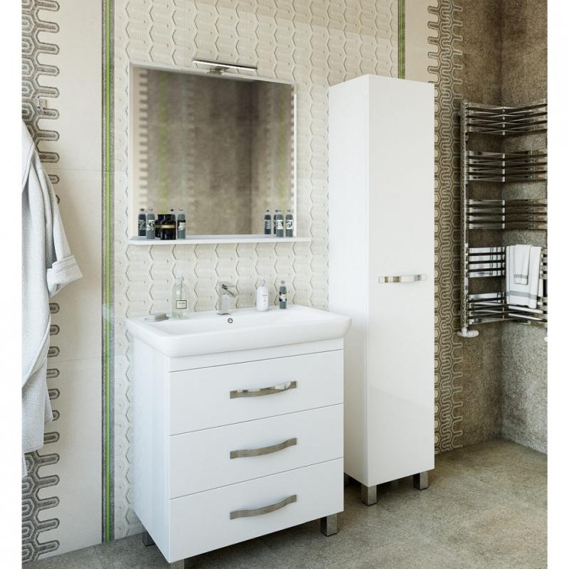 Зеркало Sanflor Одри 80 Н0000001157 Белое зеркало sanflor одри 80 белый h0000001157