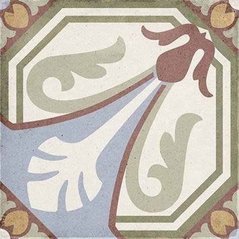 Керамический декор Equipe Art Nouveau Viena Colour 20х20 см