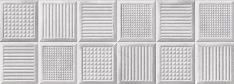 Керамическая плитка Metropol Arc Art Gris настенная 25x70см