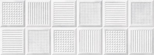 Керамическая плитка Metropol Arc Art Blanco настенная 25x70см