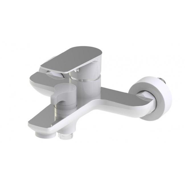 Смеситель для ванны Kaiser Atrio 60022 Хром/Белый