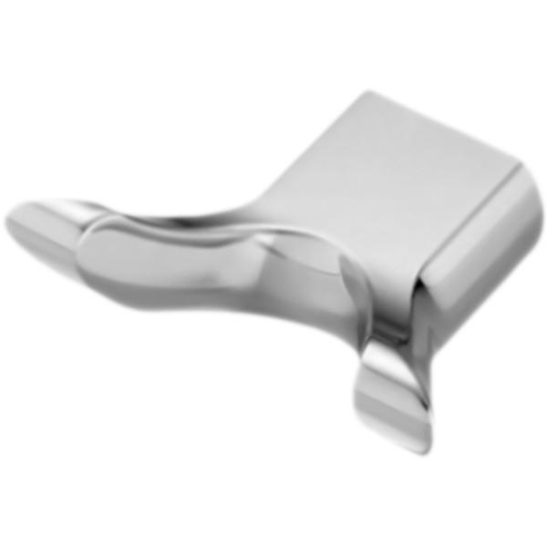 Berkel K-6823 ХромАксессуары для ванной<br><br>Настенный крючок для полотенец WasserKRAFT Berkel K-6823 двойной. Округлые, плавные формы характеризуют коллекцию Berkel, создавая воздушную легкость в интерьере, комфорт, наслаждение и положительные эмоции.<br><br><br>Материал: металл.<br>Покрытие: хромоникелевое.<br><br><br>В комплекте поставки:<br>крючок для полотенец.<br><br>