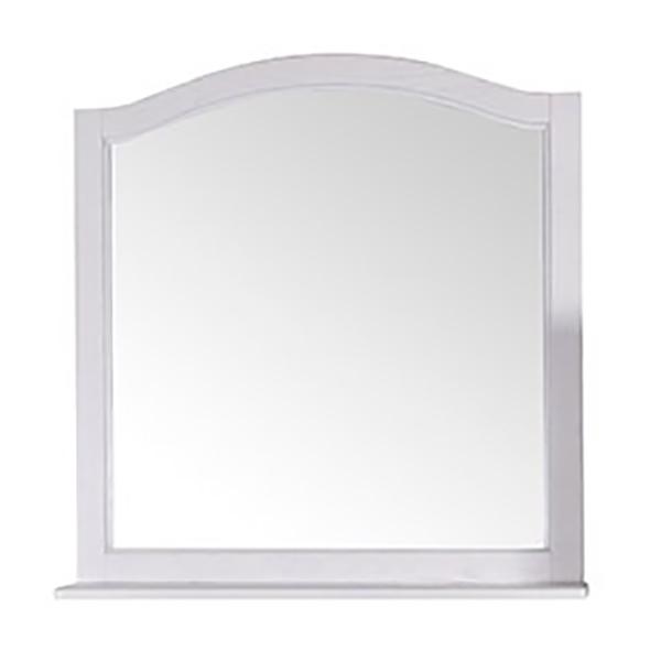Зеркало ASB-Woodline Модерн 85 Белый патина серебро зеркало vezzolli алиана цвет белый 115 х 88 см