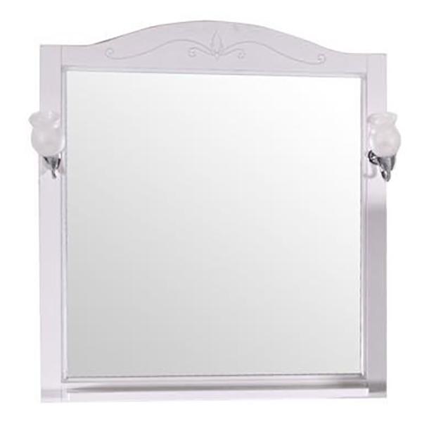 Зеркало ASB-Woodline Салерно 80 Антикварный орех