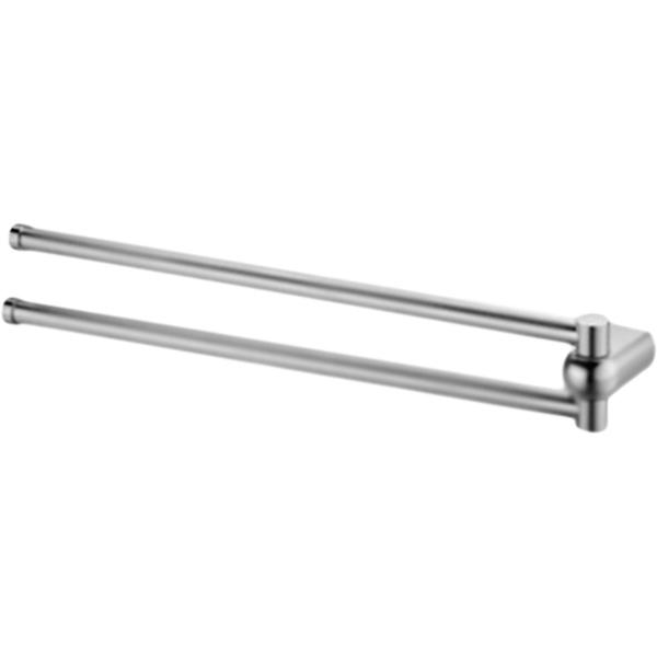 Berkel 45 K-6831 ХромАксессуары для ванной<br><br>Настенный держатель для полотенец WasserKRAFT Berkel 45 K-6831 двойной, поворотный. Округлые, плавные формы характеризуют коллекцию Berkel, создавая воздушную легкость в интерьере, комфорт, наслаждение и положительные эмоции.<br><br><br>Материал: металл.<br>Покрытие: хромоникелевое.<br>Уплотнительные пластиковые кольца.<br><br><br>В комплекте поставки:<br>держатель для полотенец.<br><br>