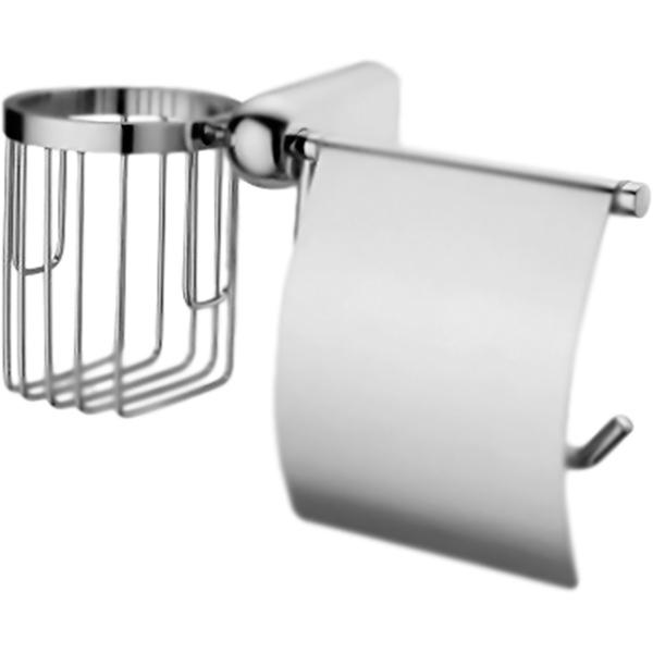 Berkel K-6859 ХромАксессуары для ванной<br><br>Настенный держатель туалетной бумаги и освежителя воздуха WasserKRAFT Berkel K-6859. Округлые, плавные формы характеризуют коллекцию Berkel, создавая воздушную легкость в интерьере, комфорт, наслаждение и положительные эмоции.<br><br><br>Покрытие: хромоникелевое.<br>Материал: металл.<br>Уплотнительные пластиковые кольца.<br><br><br>В комплекте поставки:<br>держатель туалетной бумаги и освежителя воздуха.<br><br>