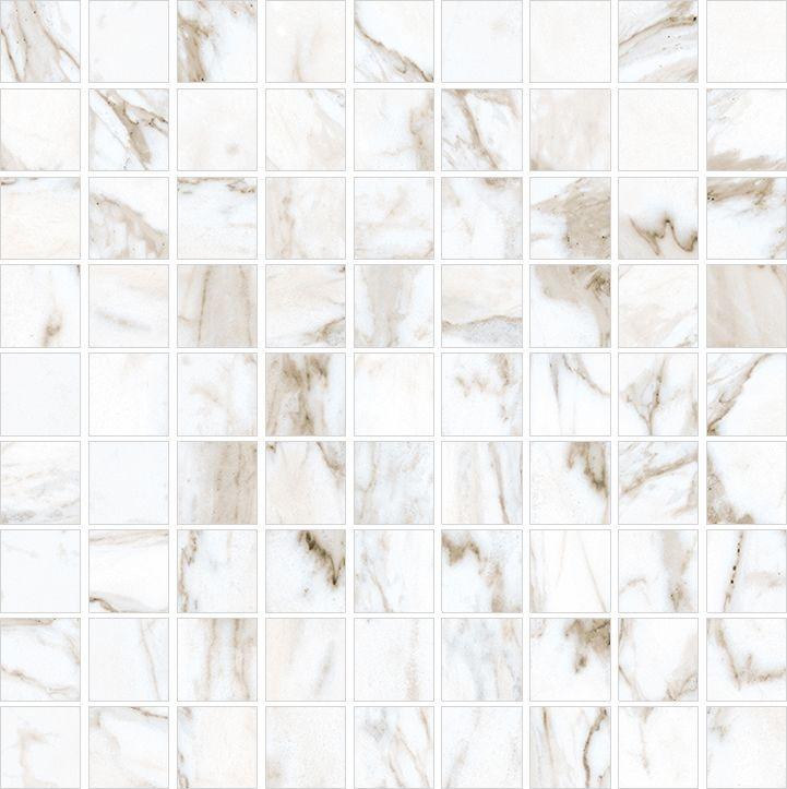Мозаика Kerranova Calacatta Marble Trend K-1001/LR/m01 30х30см