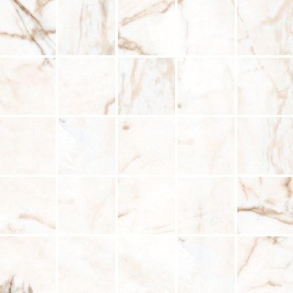 Мозаика Kerranova Calacatta Marble Trend K-1001/MR/m14 30.7х30.7см