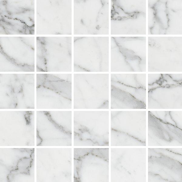 Мозаика Kerranova Carrara Marble Trend K-1000/MR/m14 30,7х30,7см
