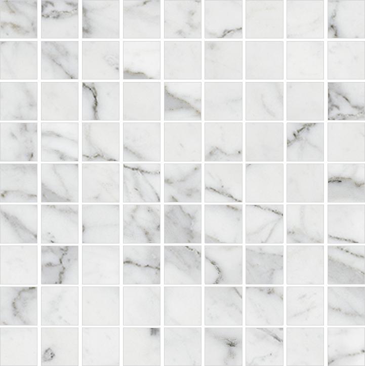 Мозаика Kerranova Carrara Marble Trend K-1000/LR/m01 30х30см мозаика kerranova canyon k 903 lr m01 30x30см