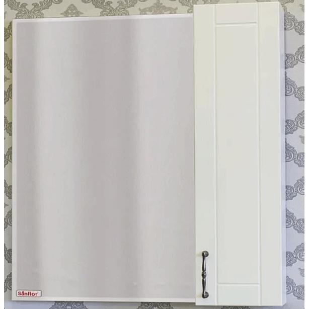 Зеркало со шкафом Sanflor Глория 85 R С000005689 Белое фото