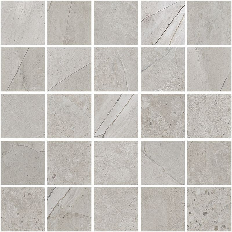 Мозаика Kerranova Limestone Marble Trend K-1005/SR/m14 30.7х30.7см appella 711 1005