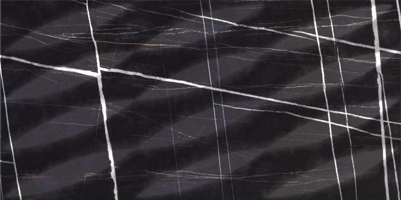Керамогранит Kerranova Nero Dorato Marble Trend K-1004/SCR 30х60см