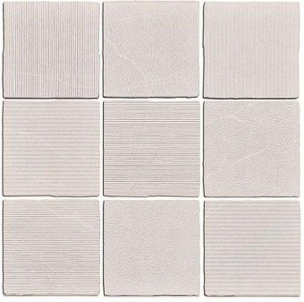 Керамогранит WOW Gea Carved Linen 120289 12,5х12,5 см