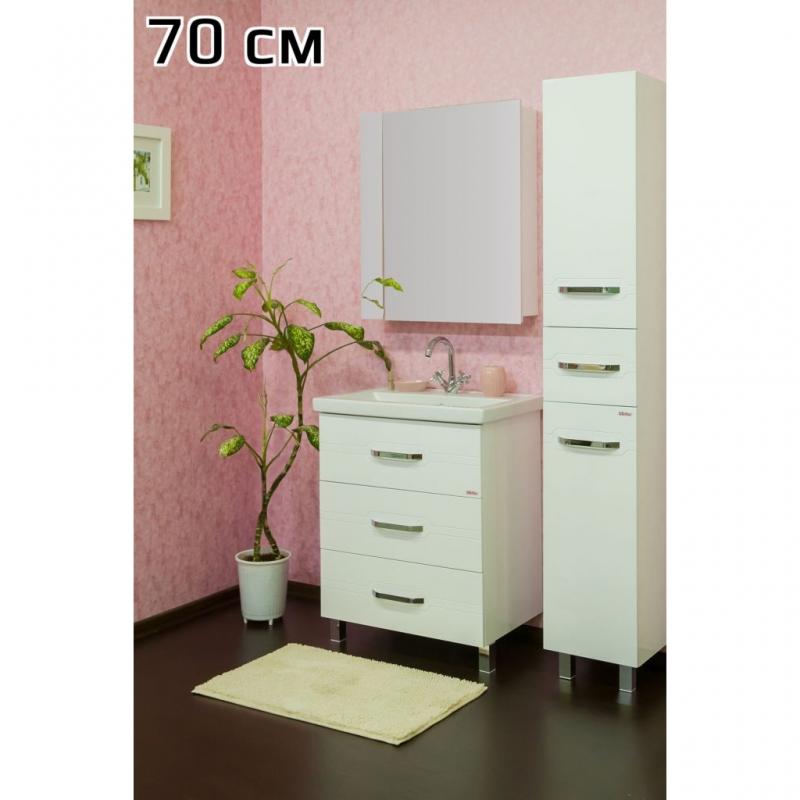 Шкаф пенал Sanflor Анкона 35 L С0000002157 Белый
