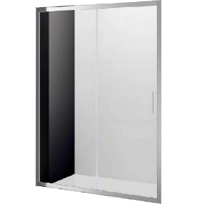Душевая дверь в нишу Cezares Molveno BF-1 160 профиль Хром стекло прозрачное