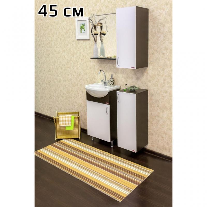 Подвесной шкаф Sanflor Мокко 28 R Н0000000781 нижний Белый Венге