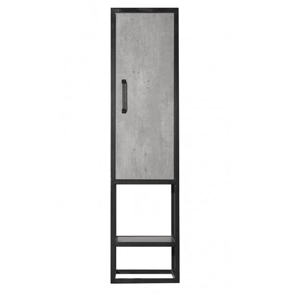 Шкаф пенал Style Line Лофт 30 Бетон