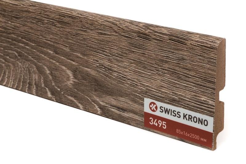 Плинтус Kronopol P85 Mambo Oak 3495 2500х85х16 мм