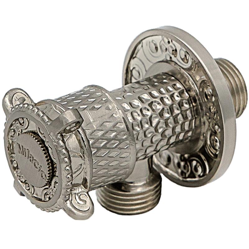 Запорный вентиль Milacio MC.008.SL Серебро