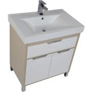 Комплект мебели для ванной Aquanet Гретта 75 209980 Светлый дуб-1