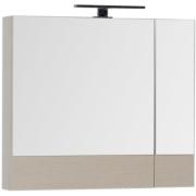 Комплект мебели для ванной Aquanet Гретта 75 209980 Светлый дуб-2