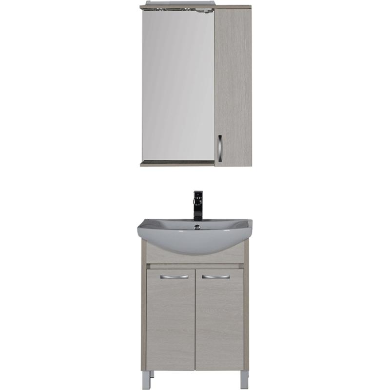Комплект мебели для ванной Aquanet Донна 60 169043 Белый дуб