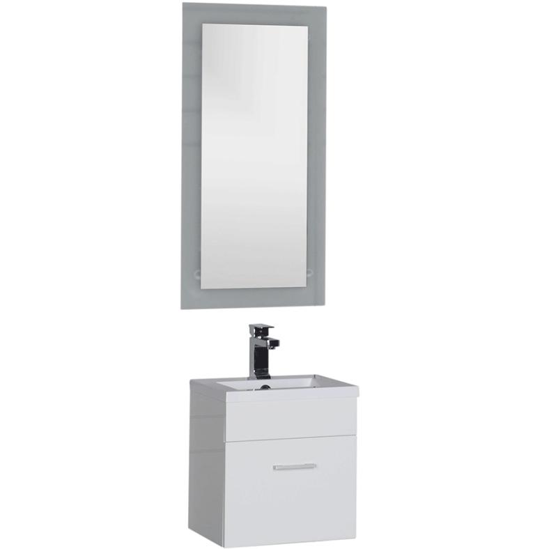 Комплект мебели для ванной Aquanet Нота 40 231063 подвесной Белый