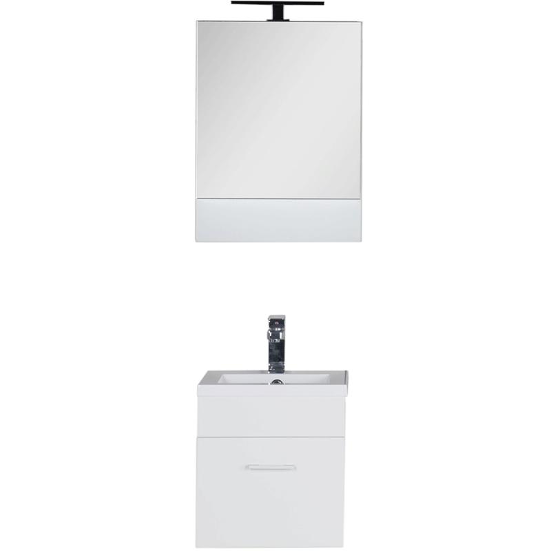 Комплект мебели для ванной Aquanet Нота 50 231069 подвесной Белый