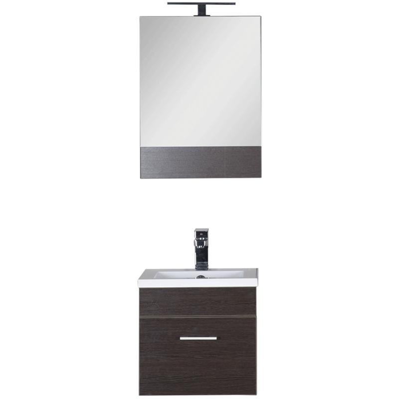 Комплект мебели для ванной Aquanet Нота 50 231070 подвесной Венге