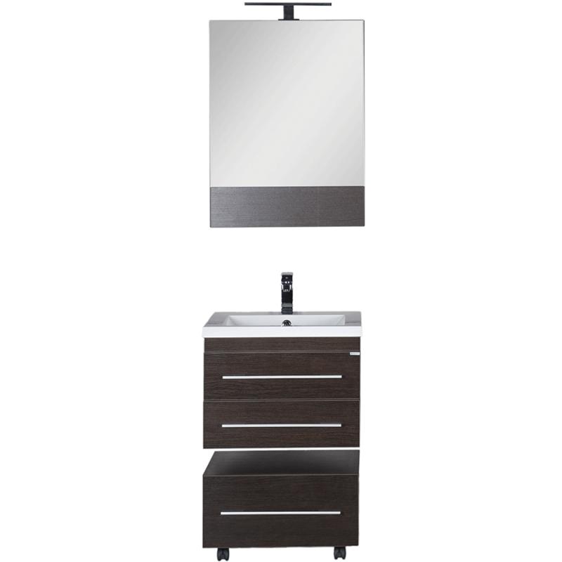 Комплект мебели для ванной Aquanet Нота 58 230292 подвесной Венге