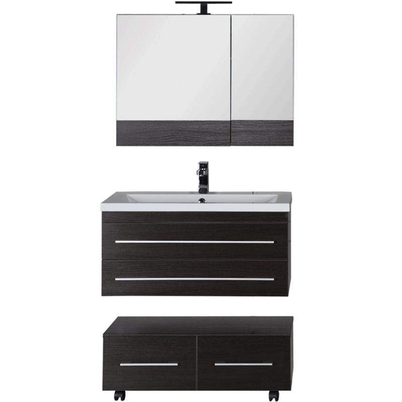 Комплект мебели для ванной Aquanet Нота 90 230298 подвесной Венге
