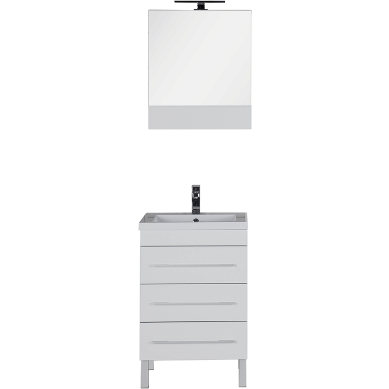 Комплект мебели для ванной Aquanet Верона 58 230310 Белый