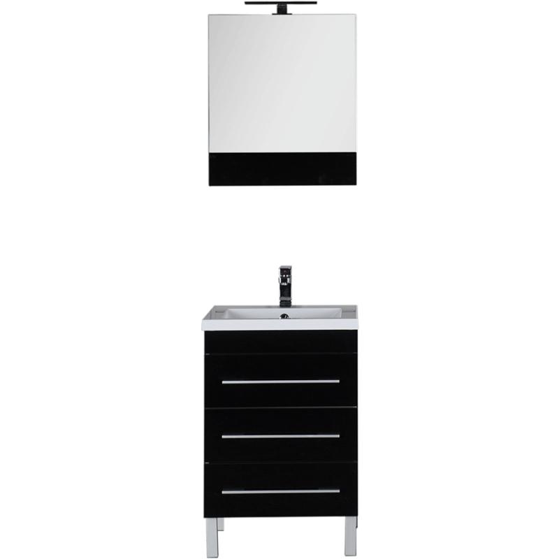 Комплект мебели для ванной Aquanet Верона 58 230311 Черный