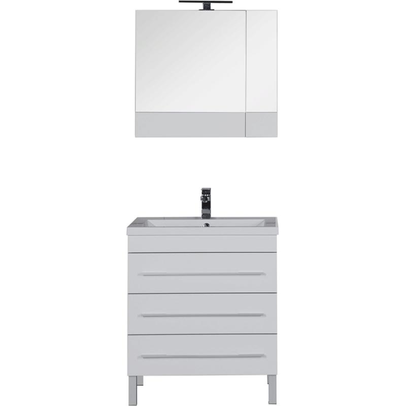 Комплект мебели для ванной Aquanet Верона 75 231040 Белый