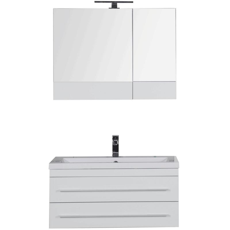 Комплект мебели для ванной Aquanet Верона 90 230312 Белый